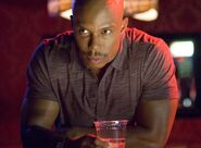 Sgt James Doakes at the bowling alley