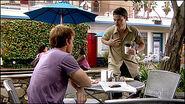 Dexter stalks Boyd at a cafe