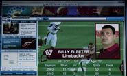 Billy Fleeter football