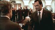 Dexter attends Oscar's funeral