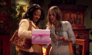 Ellen shares her donuts with Maria 2