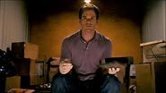 Dexter in Walter's storage unit