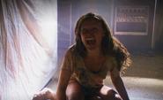 Lumen screams when Dexter locks her inside S5E4