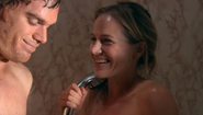 2 Rita joins Dex in shower S1E9