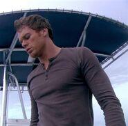 Dexter dumps the bodies of Jorge and Valerie Castillo