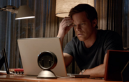 Dexter listens to old recording of Harry S8E2
