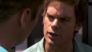 11 Dexter reminds and warns Quinn S4E7