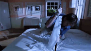 Dexter thrusts rod through mattress to kill Yates