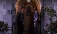 Quinn and Debra at Tilden's entrance 9