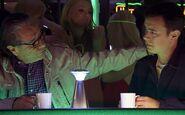 Gellar and Travis at club