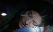 Deb sleeping in car S8E3