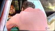Dexter attacks driver S8E1