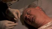 Arthur's blood slide S4E12