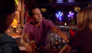 Toby serving drinks