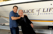 James Remar and C.S. Lee