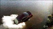 Car crashes into lake S8E4