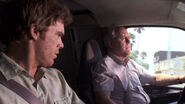 Dexter takes a road trip with Arthur