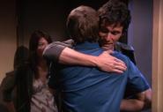 Rudy greets Dexter