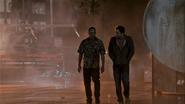 Dexter takes Estrada to the cargo container