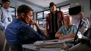 Team listens to Dexter's call S5E1