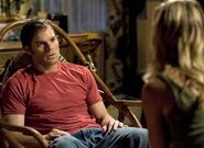 Dexter tells Rita he had sex with Lila