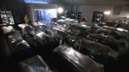 Dexter in morgue after hours S2E3