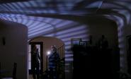 Dexter and Lumen inside Tilden's house 2
