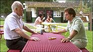 Dexter tells Arthur he killed a man