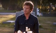 Dexter delivers Rita's eulogy