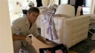 Dexter collects evidence at Cole's house 11