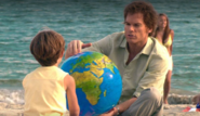 Cody and Dexter on beach
