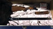29 Rifle in Dexter's trunk S4E5