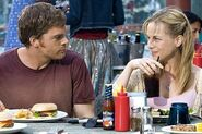 Dexter and Rita on a date