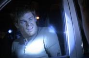 Dexter awakened by Deputy Graves S4E1