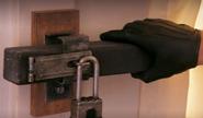 Lock on Boyd's attic 11