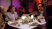 1 Dexter, Rita, Miguel, Syl dinner S3E10