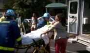 Deb taken to ambulance 7