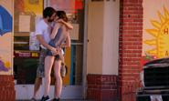Briggs and Debra kiss S8E1