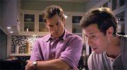 Louis Greene shows Dexter his serial killer game