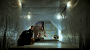 Kill room inside cargo container