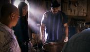 Barrel found at crime scene 22