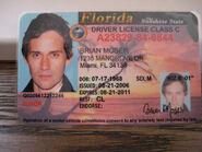 Brian's Driver License