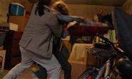 El Sapo and Debra fight S8E2