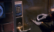 10 Dexter stymied by Brian's lock