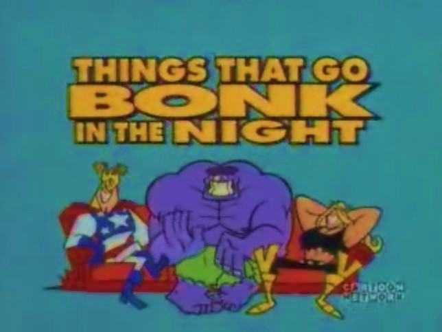 The Justice Friends: Things That Go Bonk in the Night