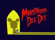 Monstrosi-Dee Dee title card