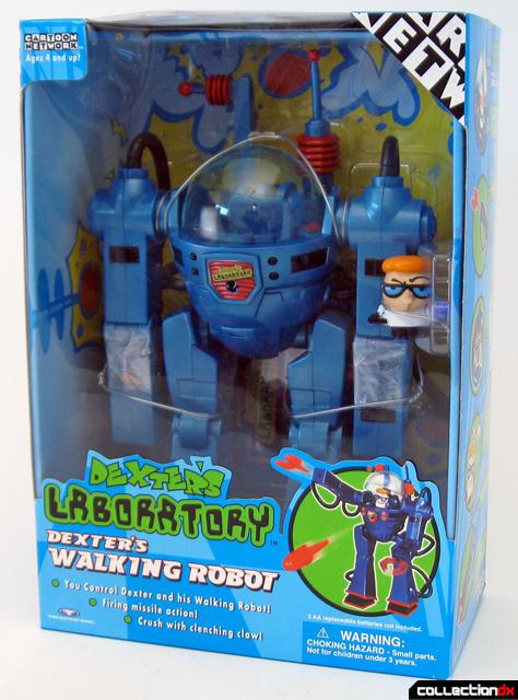 Dexter's Walking Robot