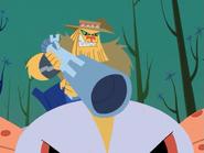 Huntor in Samurai Jack