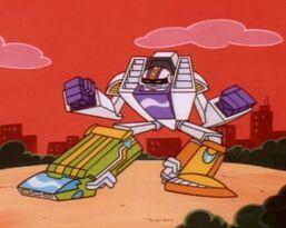 "The ""Multi-Forming Megabot"""