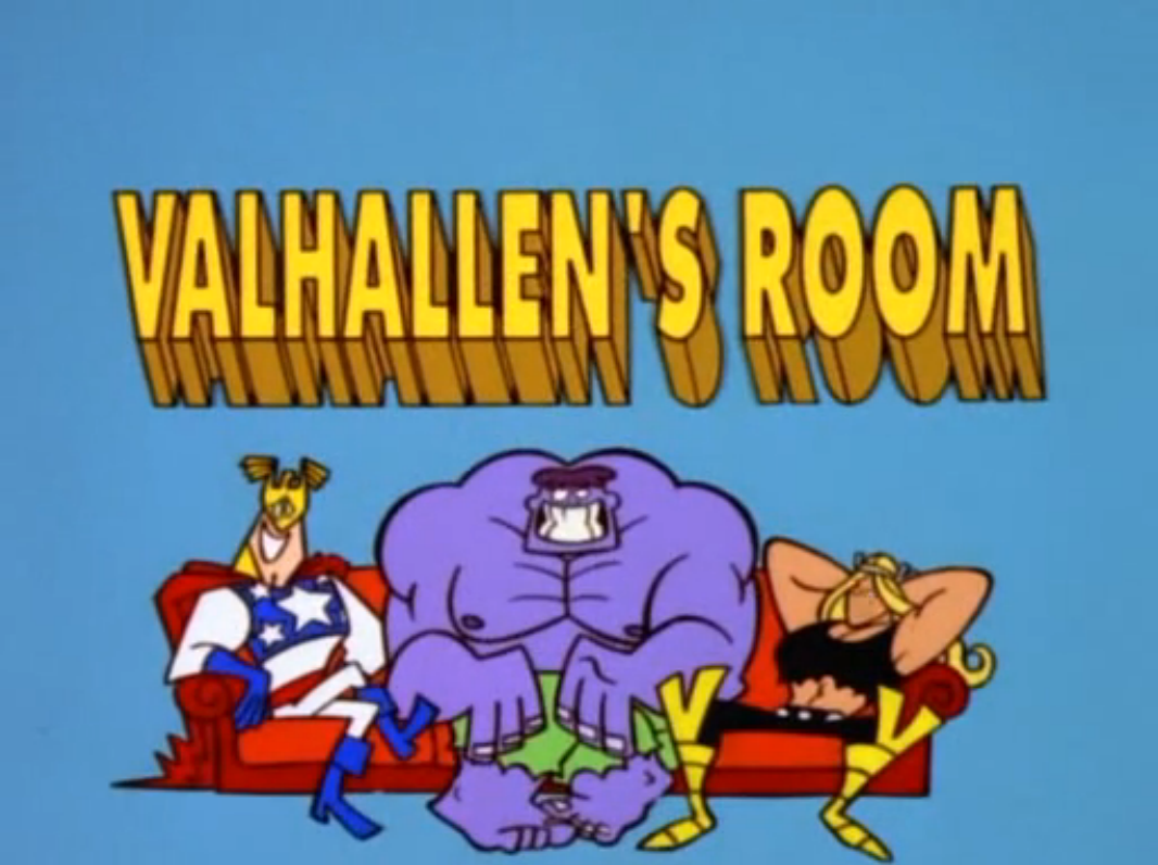The Justice Friends: Valhallen's Room